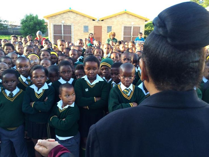 Assembly at Charles Duna Primary School, a RAIN beneficiary in Port Elizabeth, South Africa (4)
