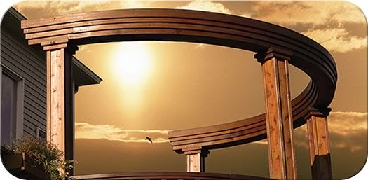 Curved Triple Fascia Beam| Fence-All