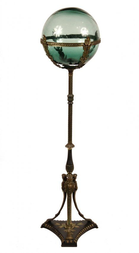 FISHBOWL STAND - Vintage Gilt Bronze Stand (c.1910) : Lot 649