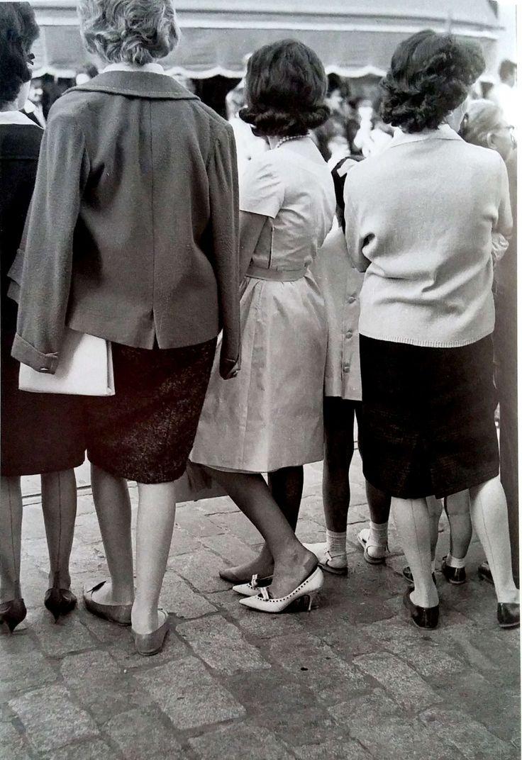 Domingo de Ramos... o sufrir para presumir. 1962. Fotografía de Serafín Sánchez Rengel.