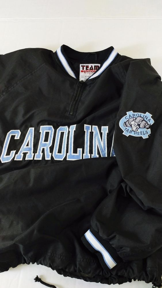 UNC Tar Heels Men's  Pullover Windbreaker Drawstring Waist Size M #TeamEditionApparel #NorthCarolinaTarHeels