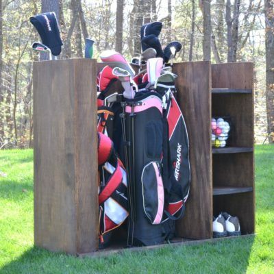 Golf Storage Unit Plans