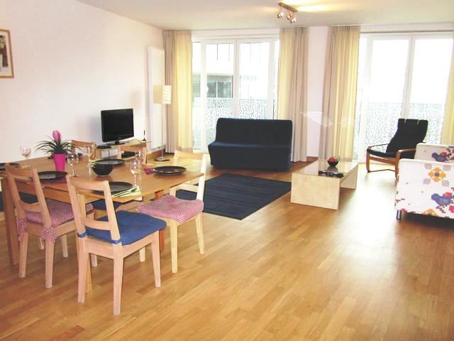 Brussel apartment - Livingroom