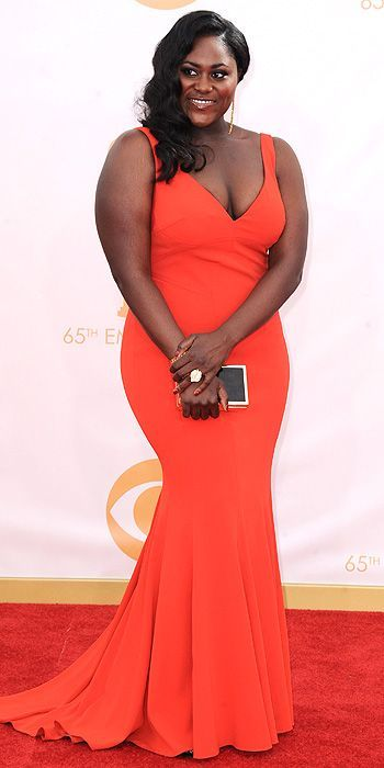Danielle Brooks at the 2013 Emmys #celebrity #fashion #redcarpet