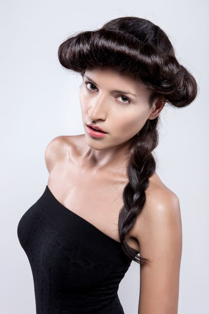 THE FAIRIES OF THE FUTURE - F/W 2014/15 collection by Hair studio Honza Kořínek #trends #collection #honzakorinek #fw14 #brown #long #hair