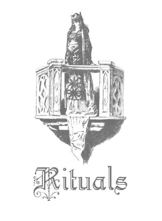rituals title page~ https://www.facebook.com/thesoulfuleclectic