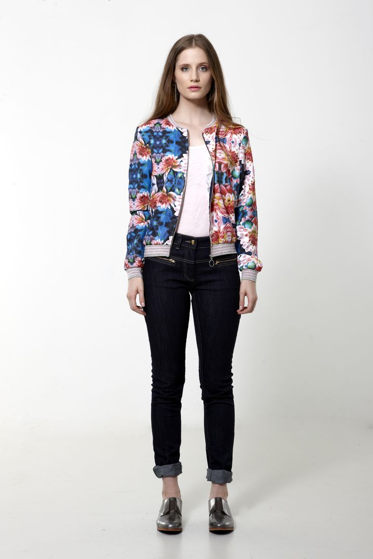 Candlelight Jacket - Waterlily - ANDREA MOORE  http://www.andreamooreboutique.com/estore/style/jk44600.aspx