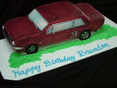 How To Make A F Car Cake