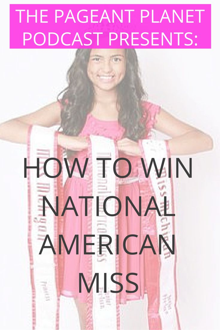 Check out The Pageant Planet Podcast! Here you will discover everything you need to win the crown of your dreams. Each episode we interview experts in all categories (PreTeen, Teen, General) and give you the insights to help you win. This episode discusses what you need to know to win National American Miss.