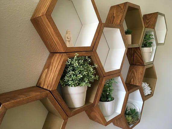 best 25 geometric shelves ideas on pinterest kmart home wall shelving and hexagon shelves. Black Bedroom Furniture Sets. Home Design Ideas