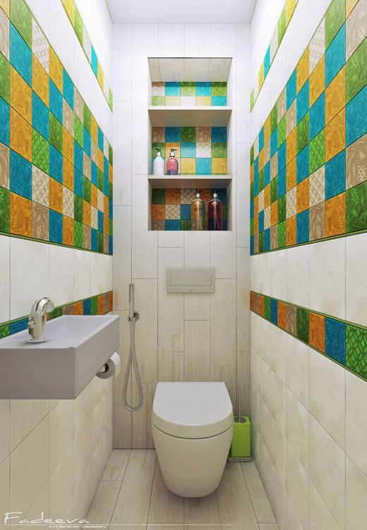 Небольшая ванная комната. Ванная