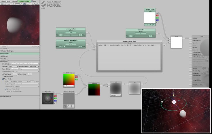 Shader Forge - A visual, node-based shader editor | Page 74 | Unity Community