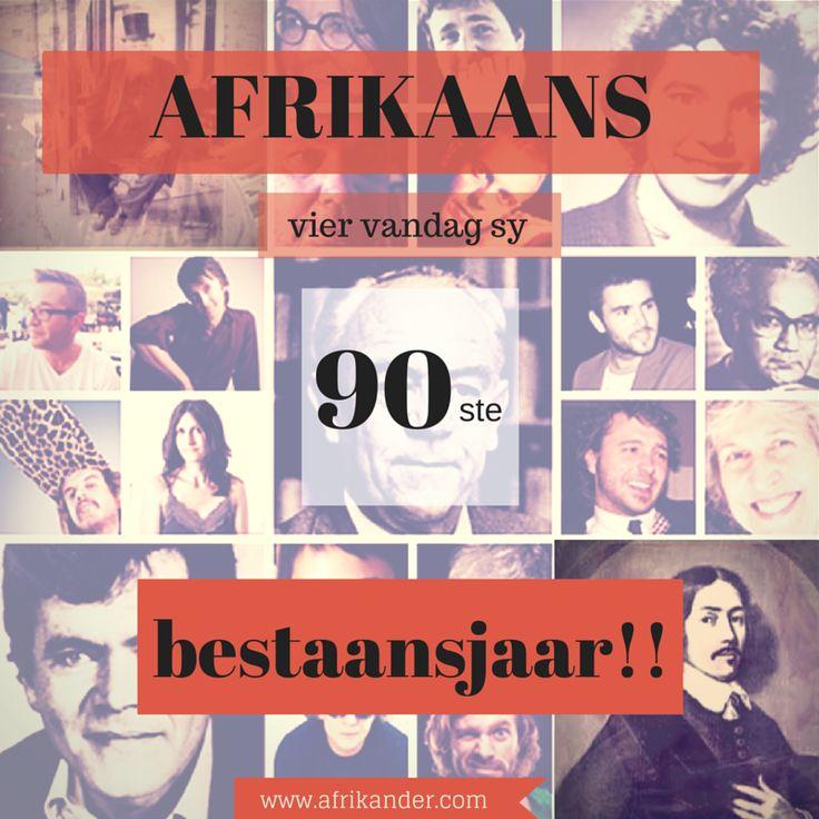 Afrikaans se 90ste viering as amptelike taal van Suid-Afrika: 8 Mei 2015