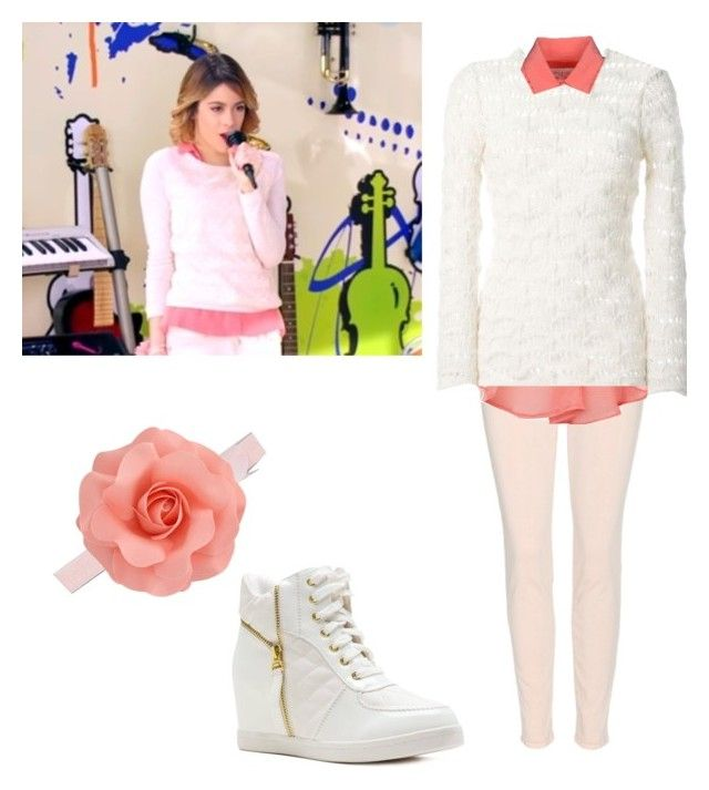 """violetta  3 underneath it all"" by vikitoria200 ❤ liked on Polyvore featuring J Brand, Dorothy Perkins, Isabel Marant and Paul & Joe"