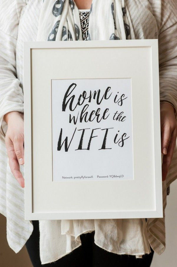 Best 20+ Wifi Password Printable ideas on Pinterest | Show wifi ...
