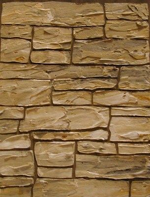 Use this stone stencil to create the look of stacked stone on interior or exterior walls.  Stencils can help you create the look in your home you have always dreamed of! Use stencils on walls instead of expensive wallpaper to get that all over pattern you desire.  All of our stencils can be used with paint. Our Raised Plaster Stencils can be used with joint compound, Venetian plasters and even cement to create raised designs.   All stencils are reusable many times over. It's easy to stencil…