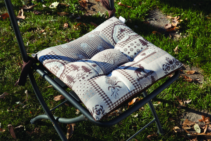 Un cuscino per tutte le vostre sedie coordinate! #Homedecor