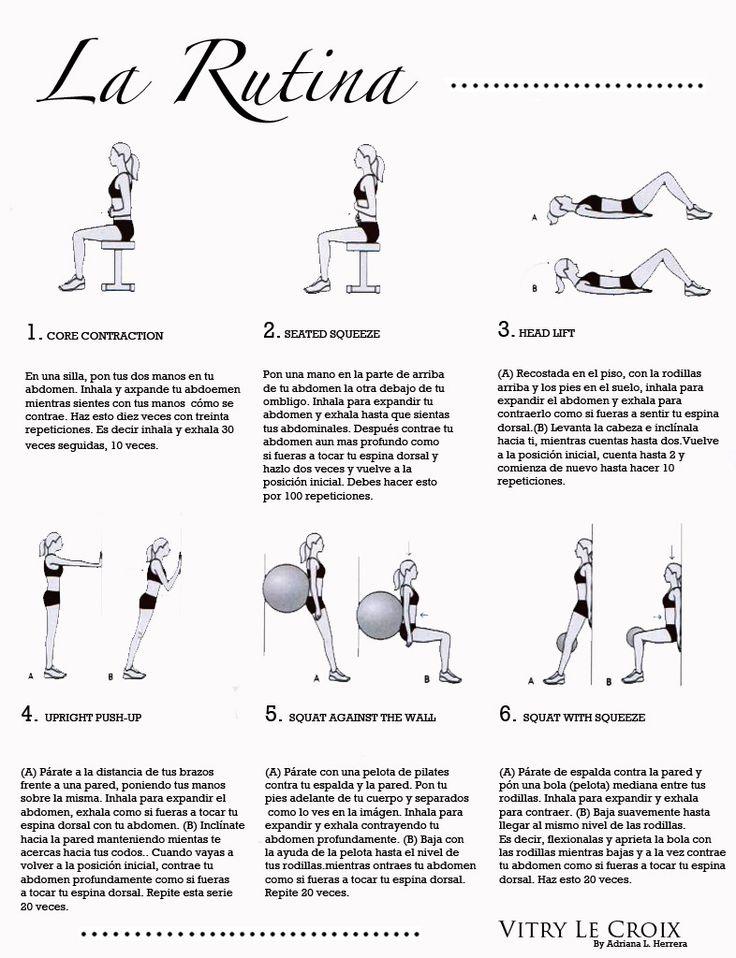 Ejercicios diastasis recto abdominal ( vamos, para que se junten los musculo barrigales despues del embarazo)