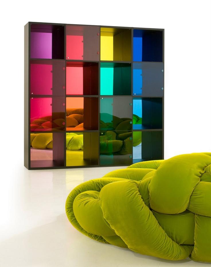 Original Design Shelves   LINEARI By Massimo Morozzi   Edra