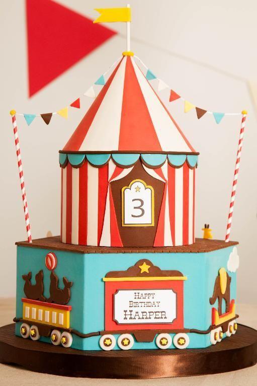 Big Top Cake: Amazing Birthday Cake Ideas on Craftsy