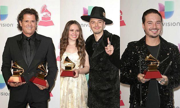 Aquí tenemos la lista de ganadores de los Grammy Latino 2016: http://www.superchevere.com/entretenimiento/estos-son-los-ganadores-de-los-grammy-latino-2016/