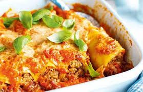 Chicken cannelloni pasta.