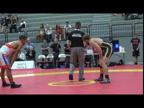 2017 Canada Cup FS65kg Mike Asselstine (Bears) vs Alejandro Valdes Tobier (Cuba)