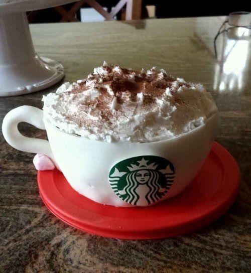 Starbucks Cake!! | Good Eats and Great Drinks | Pinterest | Starbucks ...