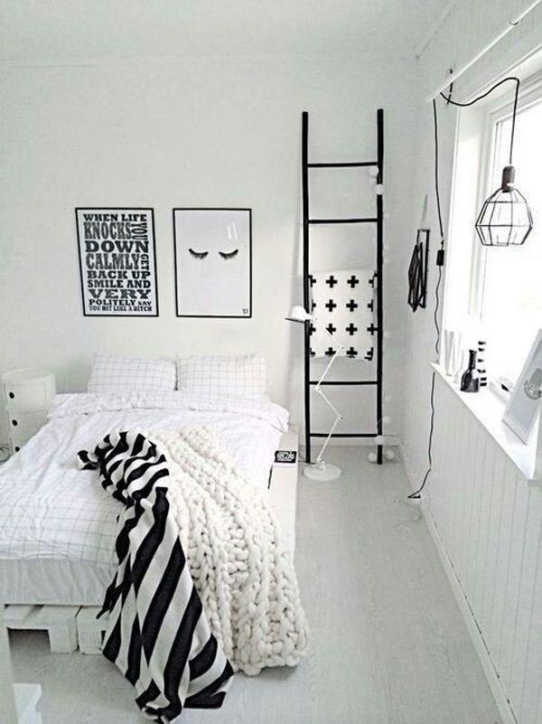 10 Black And White Bedroom For Teen Girls