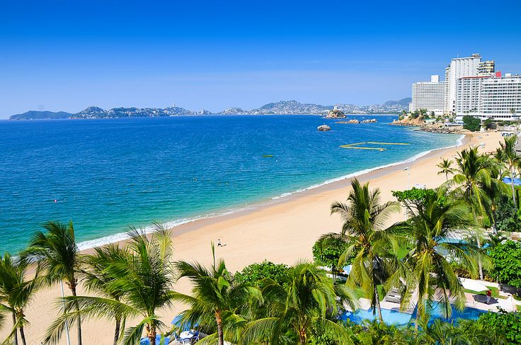 Acapulco beach.