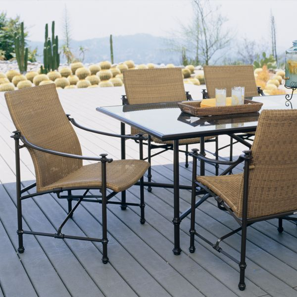 Campaign Woven   dining64 best John Caldwell for Brown Jordan images on Pinterest   Brown  . Outdoor Dining Furniture Houston. Home Design Ideas