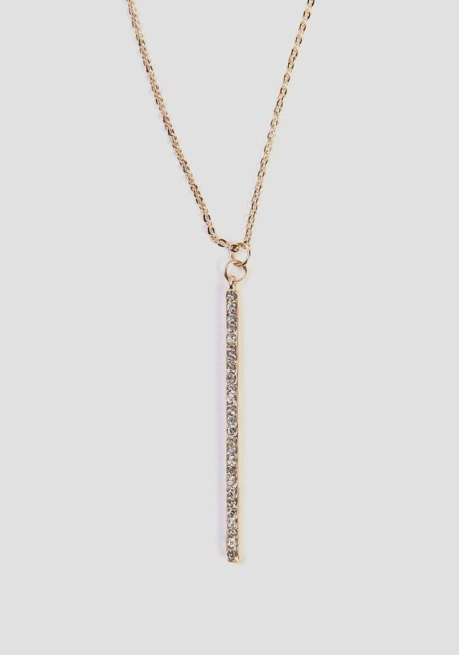 Fine Lines Pendant Necklace