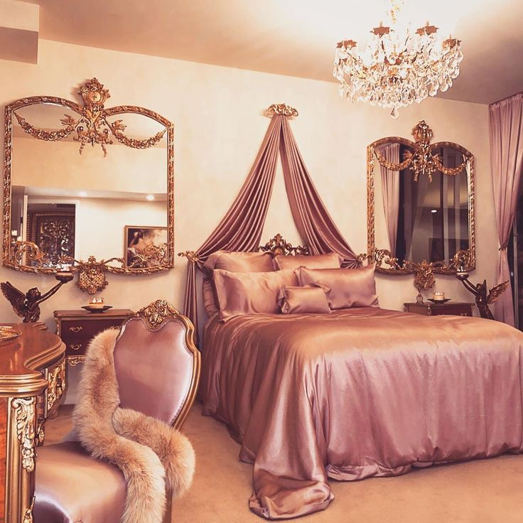 glamour and luxury in 2020  luxurious bedrooms royal