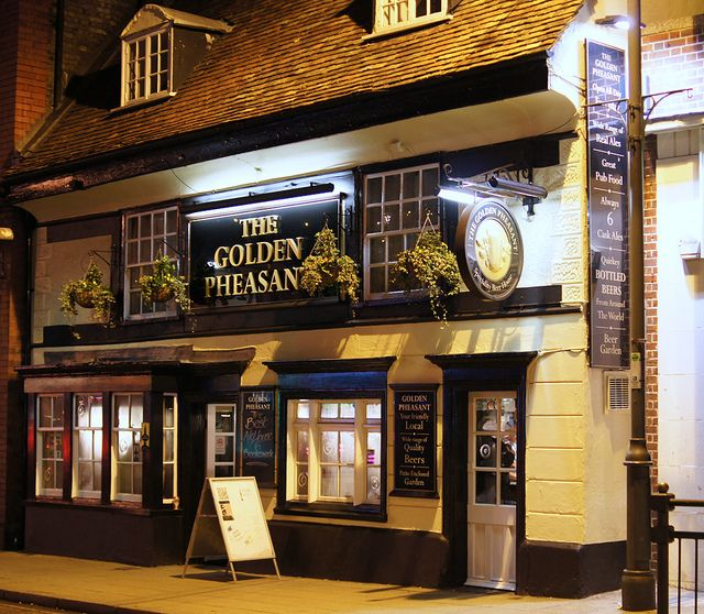 The Golden Pheasant, Biggleswade by Neil Pulling, via Flickr