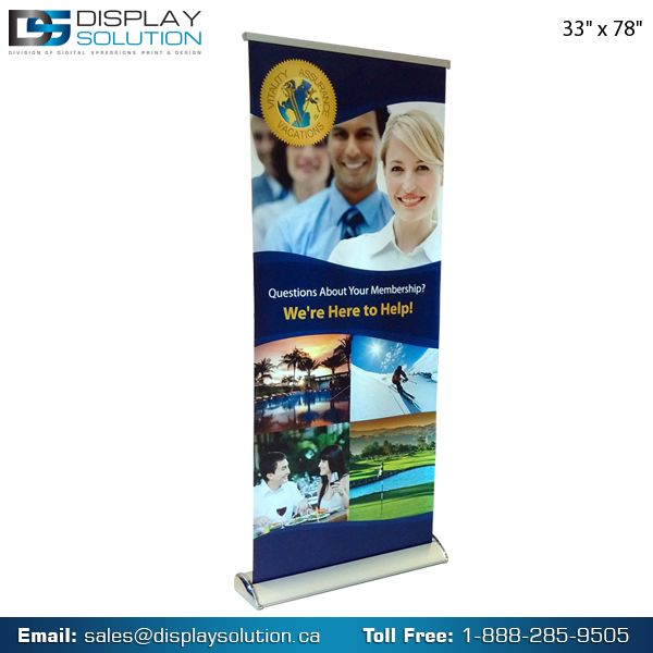 Display Solution offers a wide range of Banner Stands – available in many sizes with custom graphics, it's easy to install features take your event to the next level. Whether for a critical trade show, a busy promotional event, or any other advertising venue, here's where you'll find the perfect banner stands that get your message seen... and noticed! For more detail visit us on https://displaysolution.ca/banner-stand.html