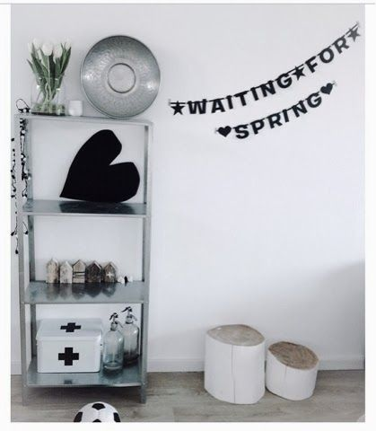 #Wordbanner #tip: Waiting for #spring - Buy it at www.vanmariel.nl - € 11,95