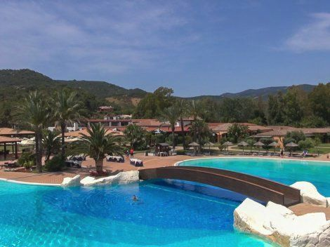 Hotels in Sardinien: Garden Beach Cala Sinzias ****