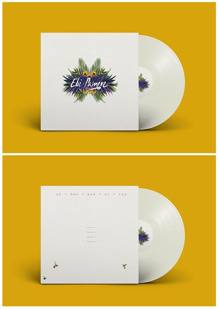 Mockup Vinyl Design for Ebi Pamere