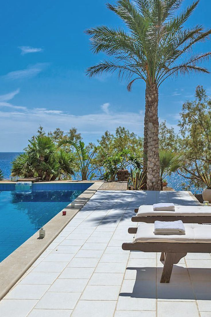 Villa On The Rocks in Makrigialos, Lasithi, Crete