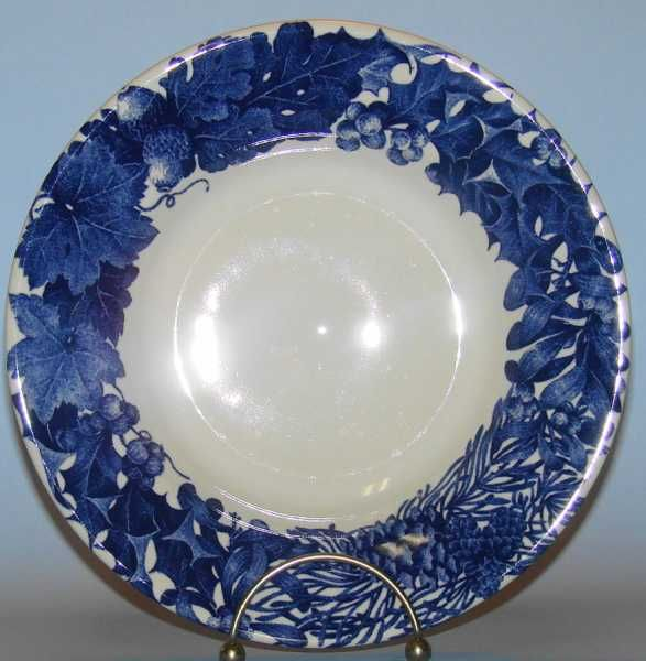 Dansk China Soup Pasta Bowl Blue Elm Rimmed $10.95 & 86 best Vintage Dinnerware Patterns images on Pinterest | Vintage ...
