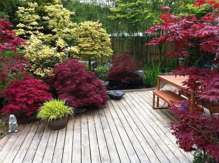 Les 25 meilleures id es de la cat gorie jardin mineral sur pinterest am nagement jardin - Amenagement petit jardin bambou calais ...