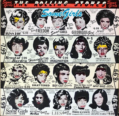 "Rolling Stones ""Some Girls"" album 1978"