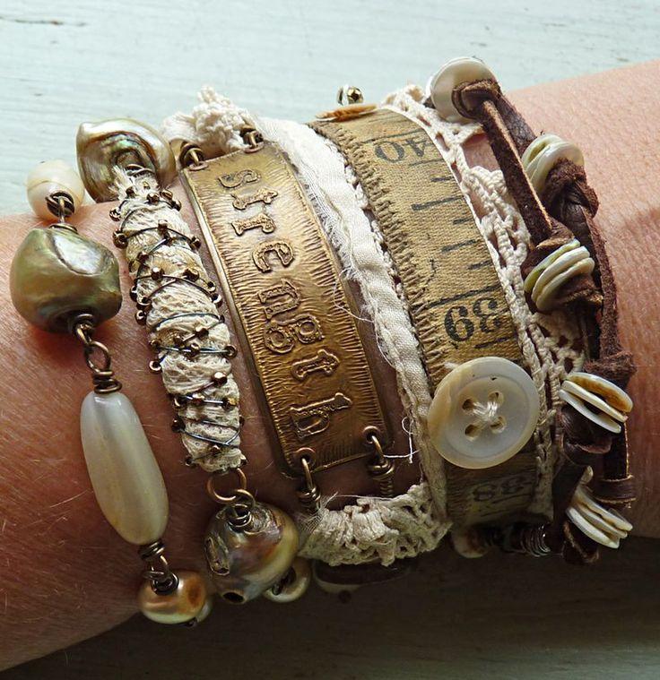 ❥ Jewelry wrap strength on wrist
