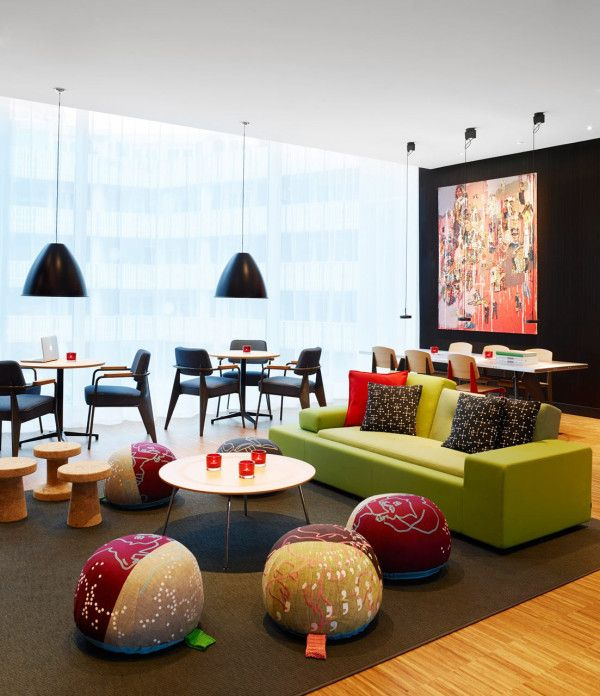 citizenM hotel in Rotterdam, The Netherlands by concrete