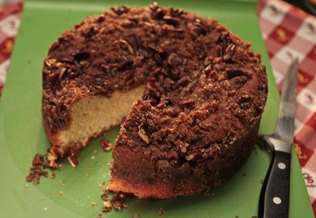 Brown Butter Pecan Coffee Cake | todos los pasteles (pastries/cakes ...