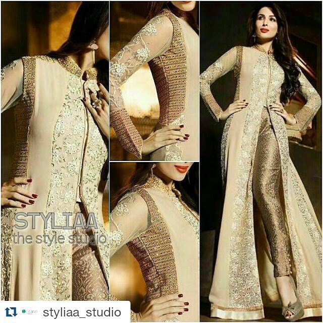 #MaliakaArorakhan : Launching exclusively an exquisite Star collection for Eid 2016. #BuyOriginal #TrustedWorldwide #BOOKINGS: 17857279106  www.styliaa.com INR 4500 (inclshipping in india)  USD $94(including shipping to USA) GBP 60(including shipping to UK). Customized Stitching rates (20$/14) For order DM Whatsapp17857279106 #styliaa #musthave #indian #anarkali #f4f #usa #canada #singapore #australia #indianwardrobe #indianfashion #worldwide #love #hongkong #southafrica #asians…