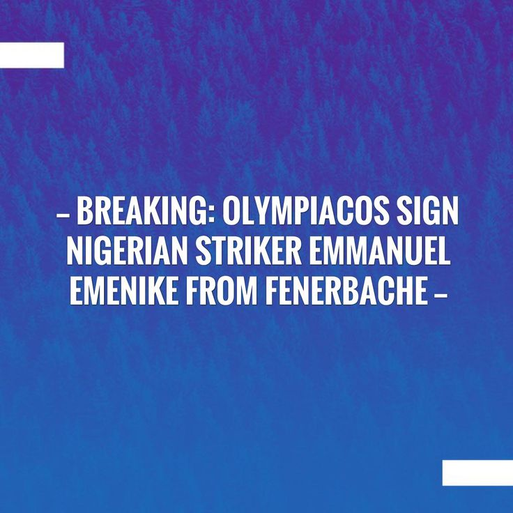 Check out my new post! BREAKING: OLYMPIACOS SIGN NIGERIAN STRIKER EMMANUEL EMENIKE FROM FENERBACHE :) http://sportstribunal.com/football/breaking-olympiacos-sign-nigerian-striker-emmanuel-emenike-from-fenerbache/?utm_campaign=crowdfire&utm_content=crowdfire&utm_medium=social&utm_source=pinterest