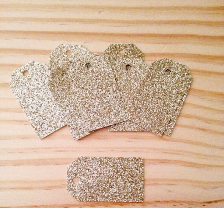 A personal favourite from my Etsy shop https://www.etsy.com/au/listing/501384432/gold-glitter-tags-lot-of-25-tags-medium