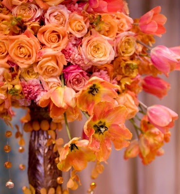 Find This Pin And More On Hot Pink Orange Weddings