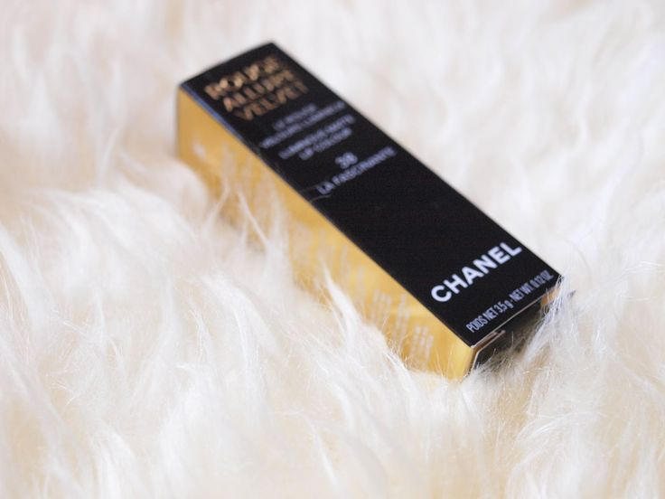 Catarina Morais | Chanel  Rouge Allure Velvet nº38 - La fascinante lipstick